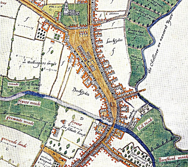Chelmsford Survey Map 1591