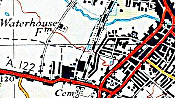 Ordinance Survey Map 1943