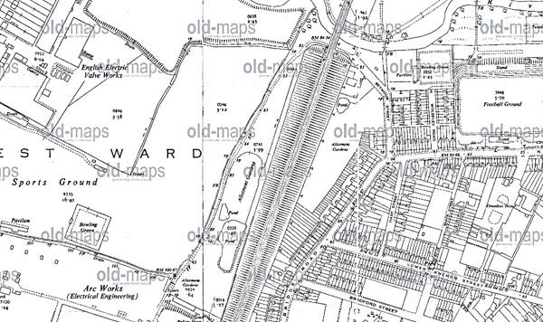 Ordinance Survey Map 1951