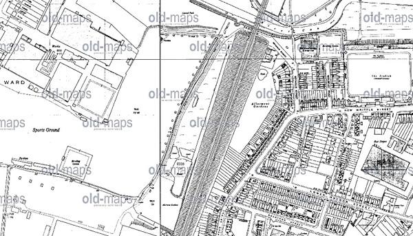 Ordinance Survey Map 1960